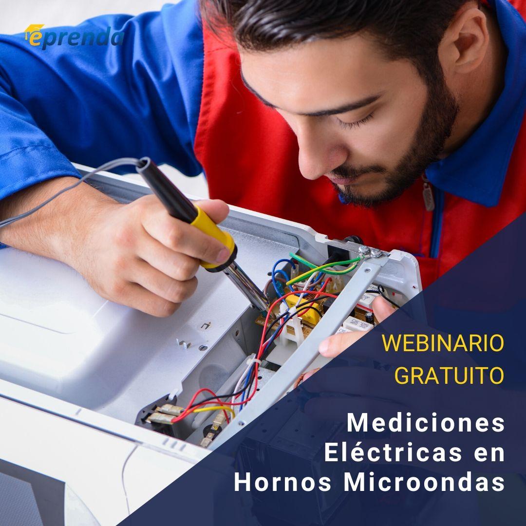 Mediciones eléctricas en Hornos Microondas