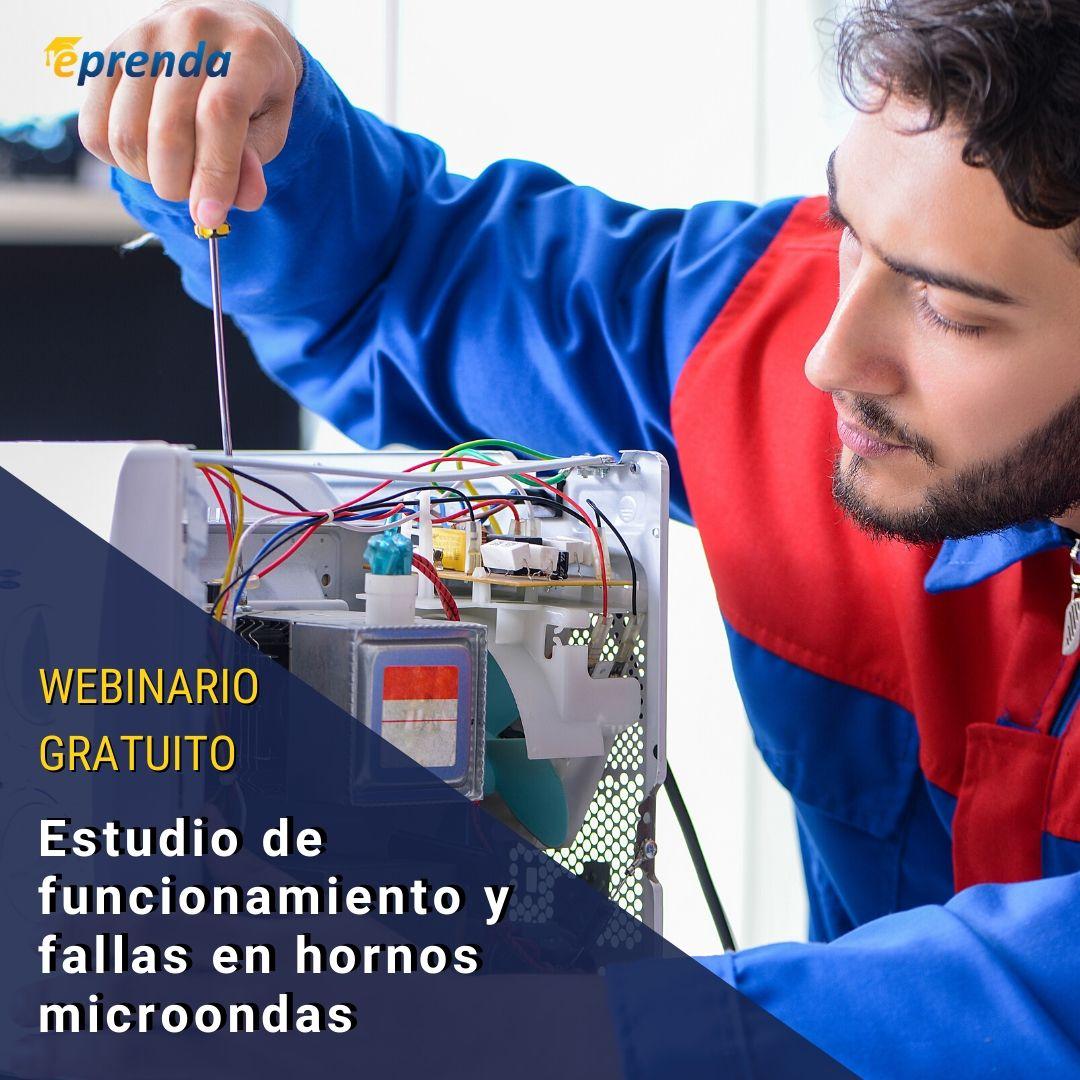 Estudio de funcionamiento y fallas en Hornos Microondas