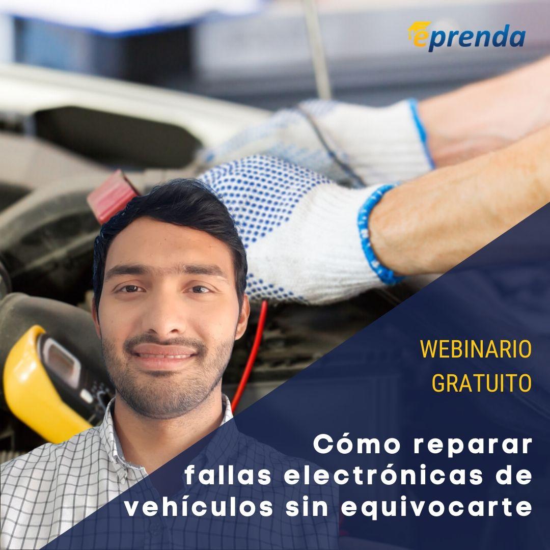 ¿Cómo reparar fallas electrónicas de vehículos sin equivocarme?