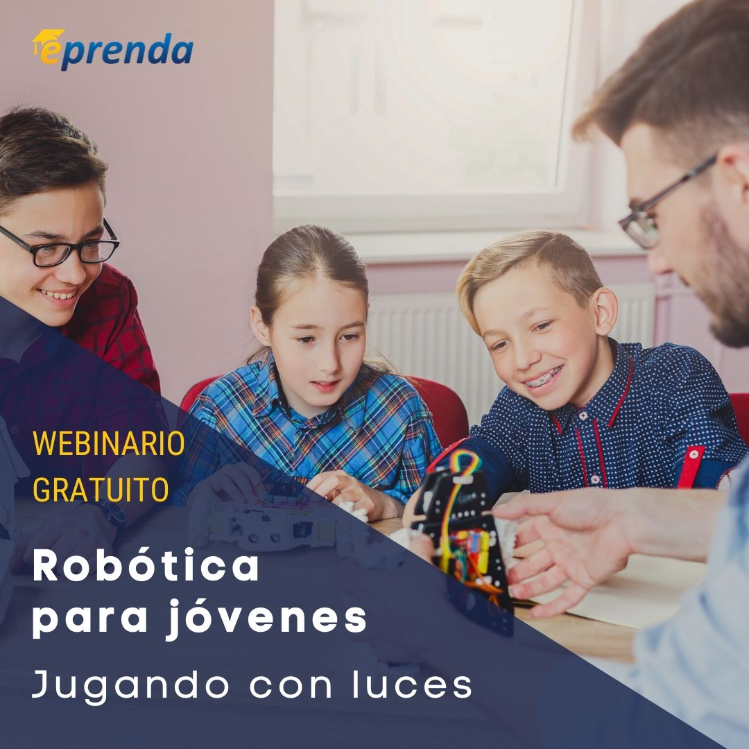 Robótica para jóvenes: Jugando con luces