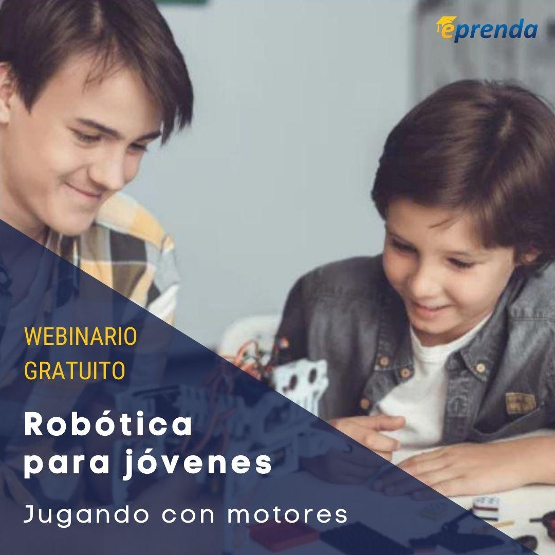 Robotica para jovenes - Jugando con motores
