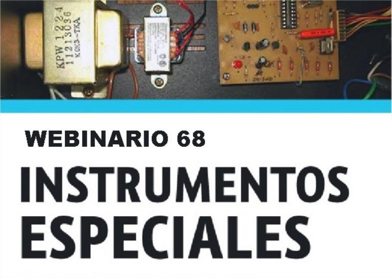 Webinario 68 Instrumentos Especiales