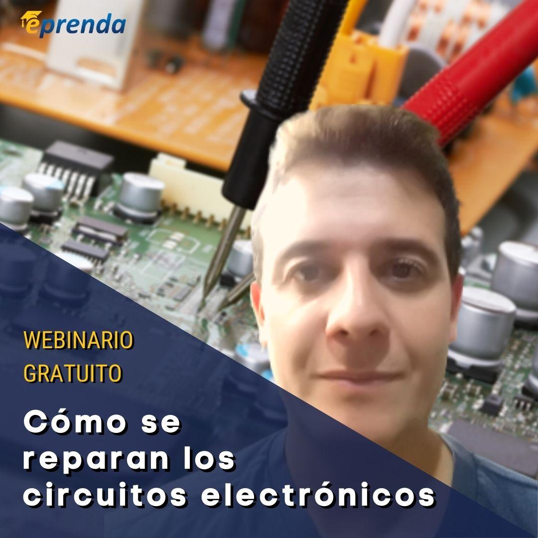 ¿Cómo se reparan los circuitos electrónicos?