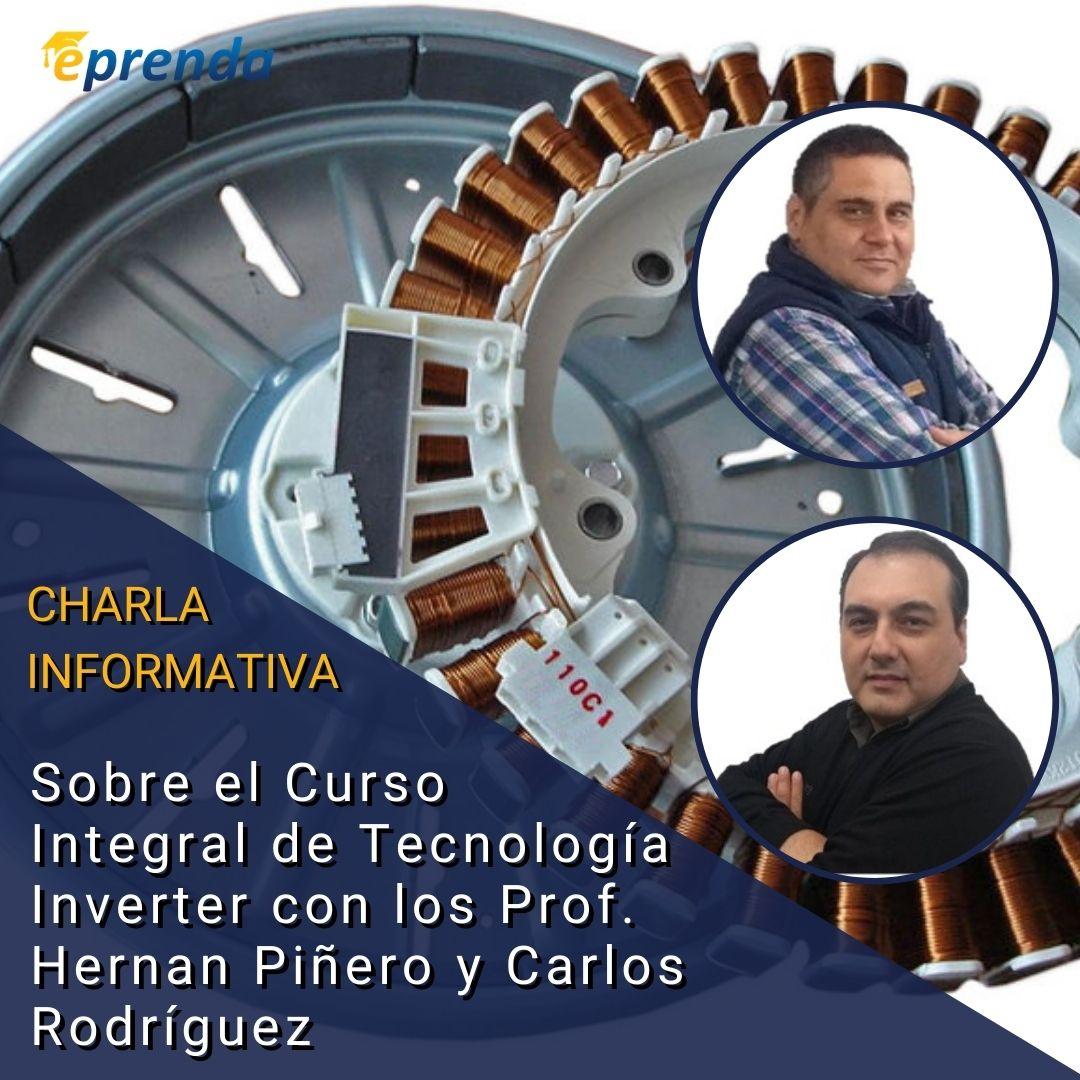 Charla Informativa: Curso Integral de Tecnología Inverter aplicada en motores de línea blanca
