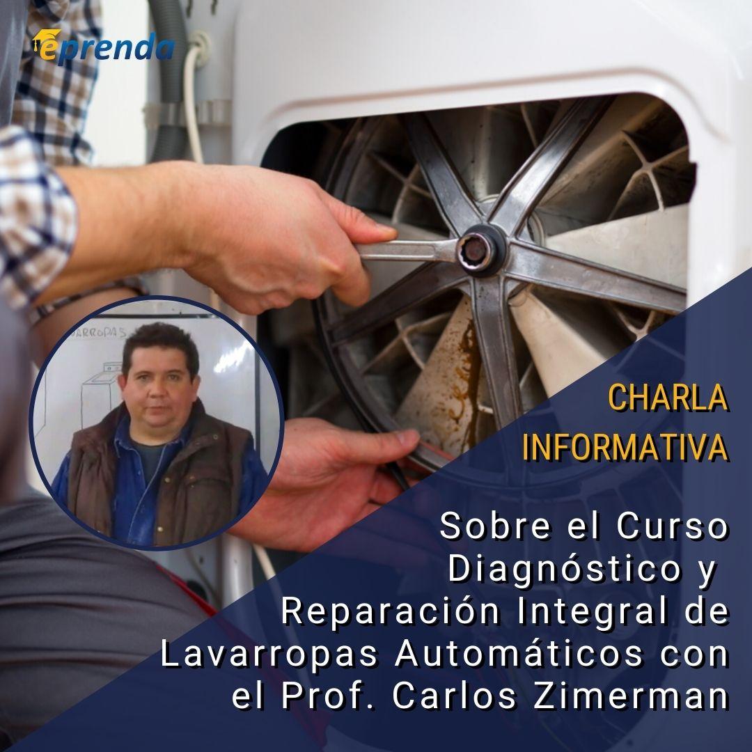 Charla Informativa: Diagnóstico y Reparación Integral de Lavarropas Automáticos