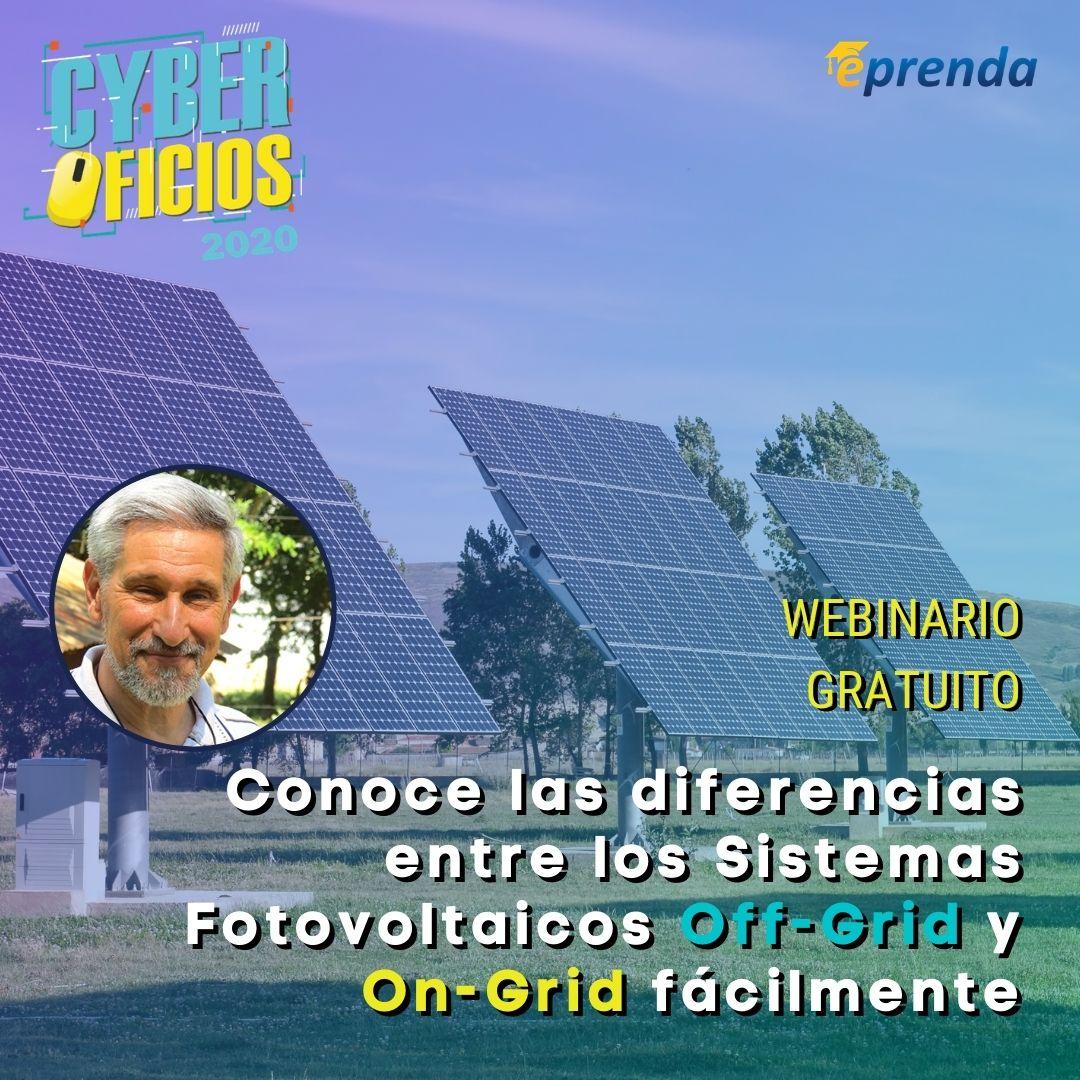 Conoce las diferencias entre los sistemas fotovoltaicos offgrid y ongrid fácilmente