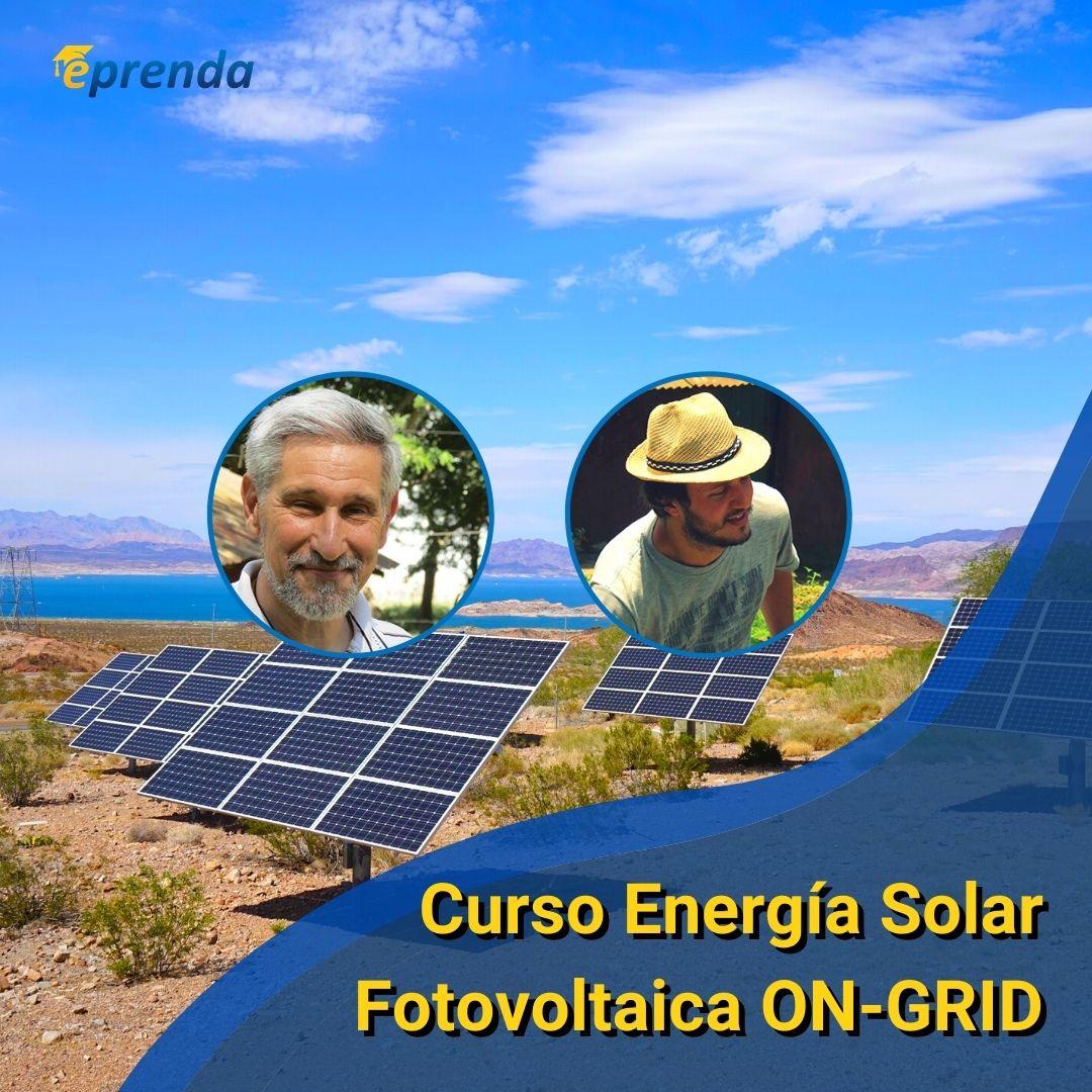 Curso de Energia Solar Fotovoltaica ON GRID