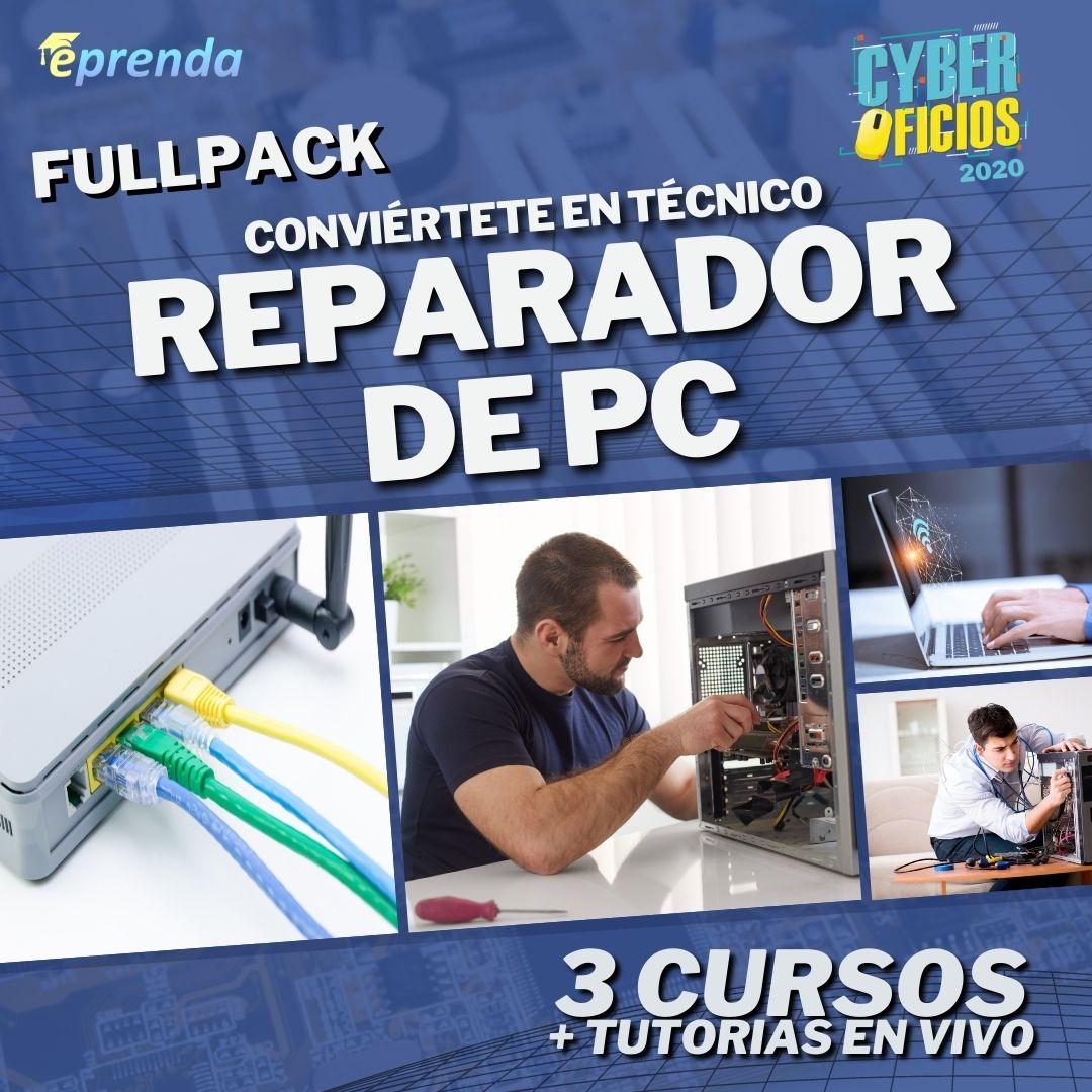 FullPack: Conviértete en Técnico Reparador de PC