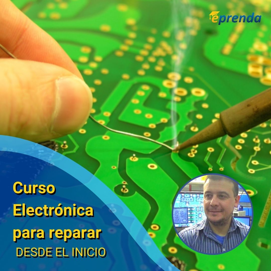 Curso Electrónica para Reparar desde el INICIO!
