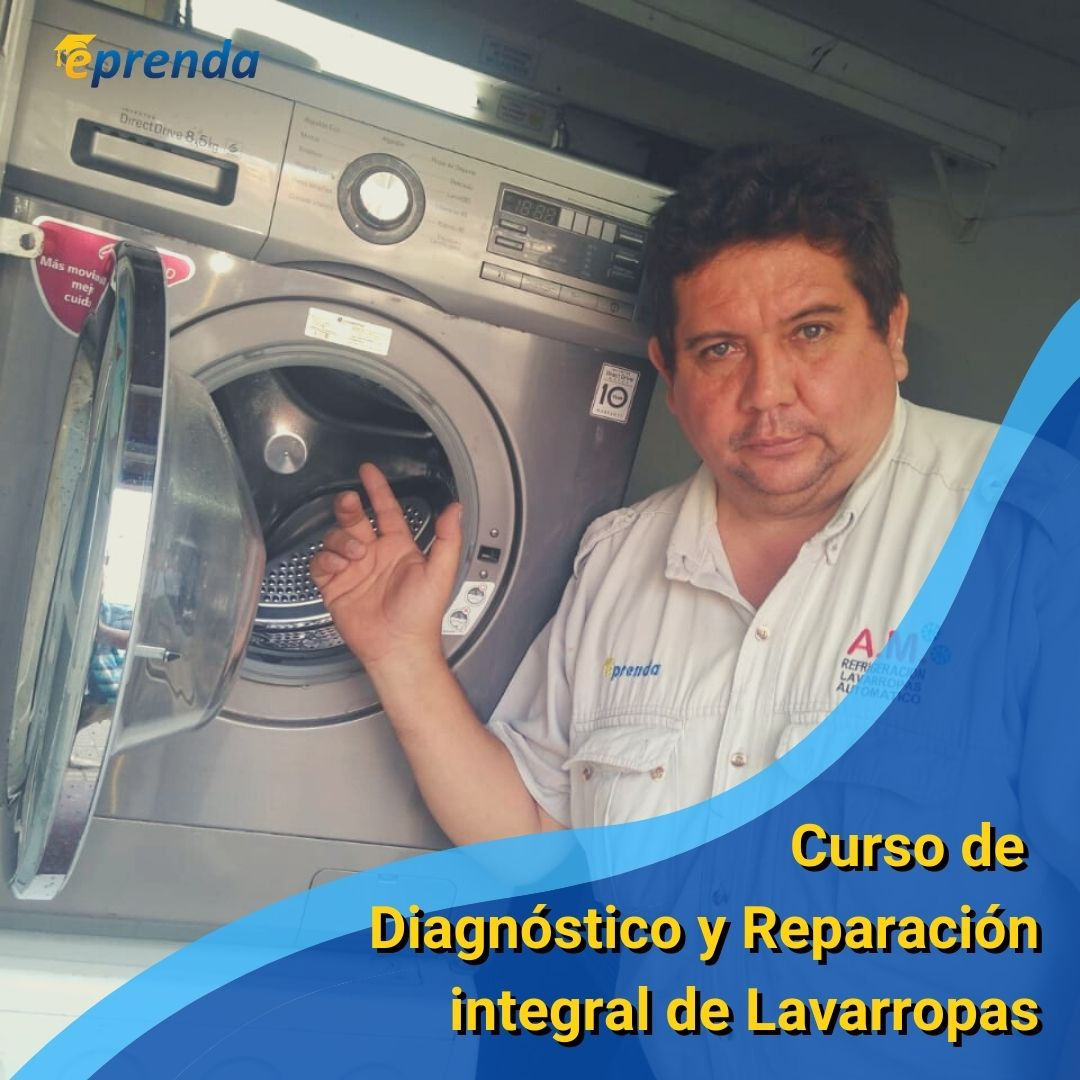 Curso de Diagnóstico y Reparación integral de Lavarropas