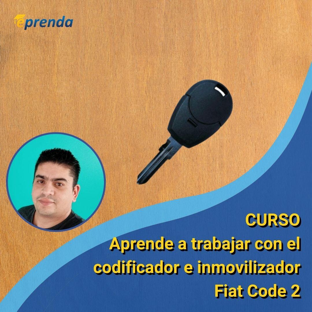 Aprende a trabajar con el codificador e inmovilizador Fiat Code 2