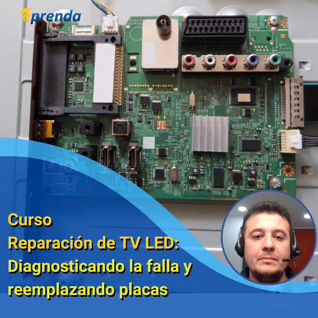 Reparación TV LED: Diagnosticando la falla y reemplazando placas