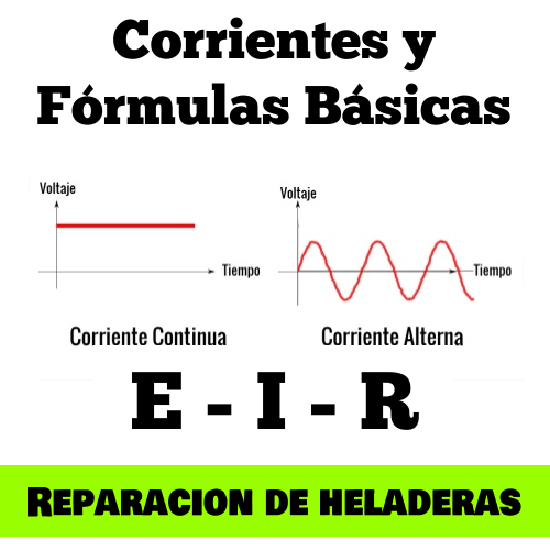 Curso Reparación de Heladeras: Corrientes y Fórmulas Básicas