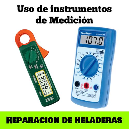 Curso Reparación de Heladeras: Uso de instrumentos de medición
