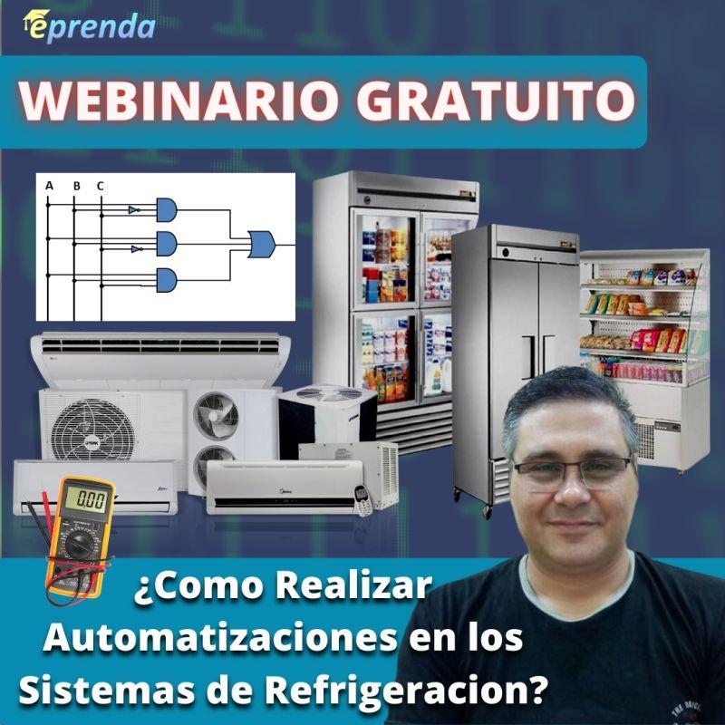 ¿Como Realizar Automatizaciones en los Sistemas de Refrigeracion?