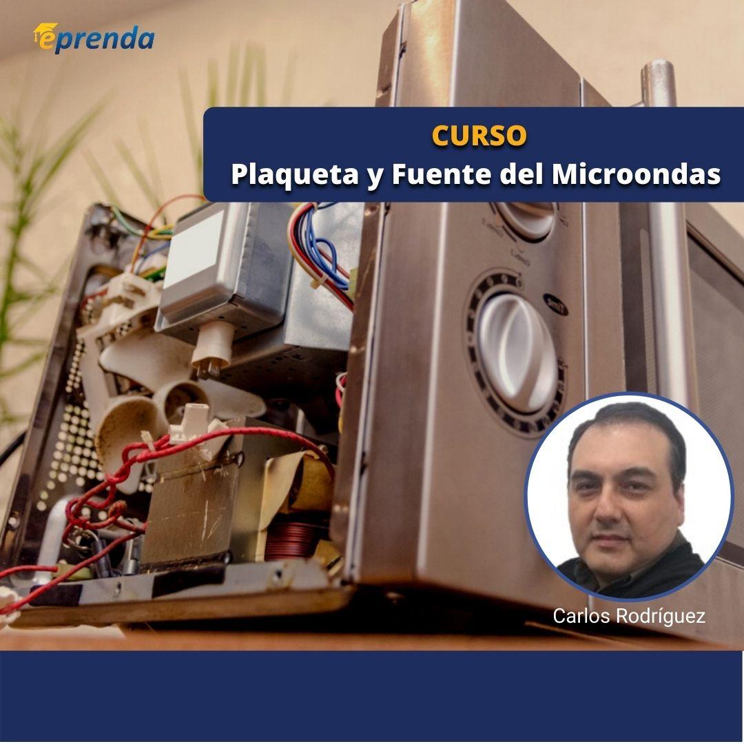Curso Online de Plaqueta y Fuente del Microondas