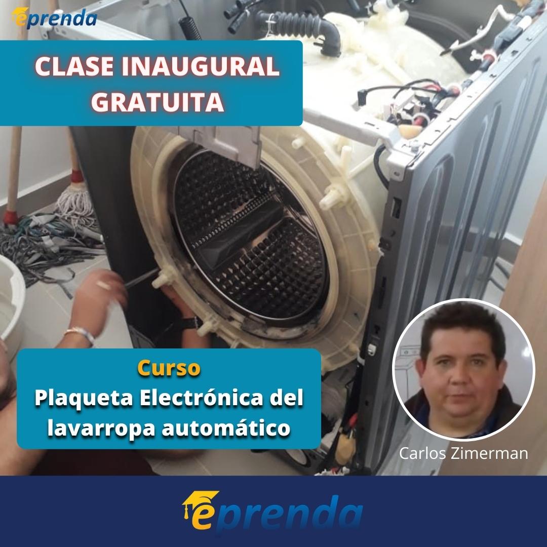 Clase Inaugural de Plaqueta Electrónica del Lavarropas Automático
