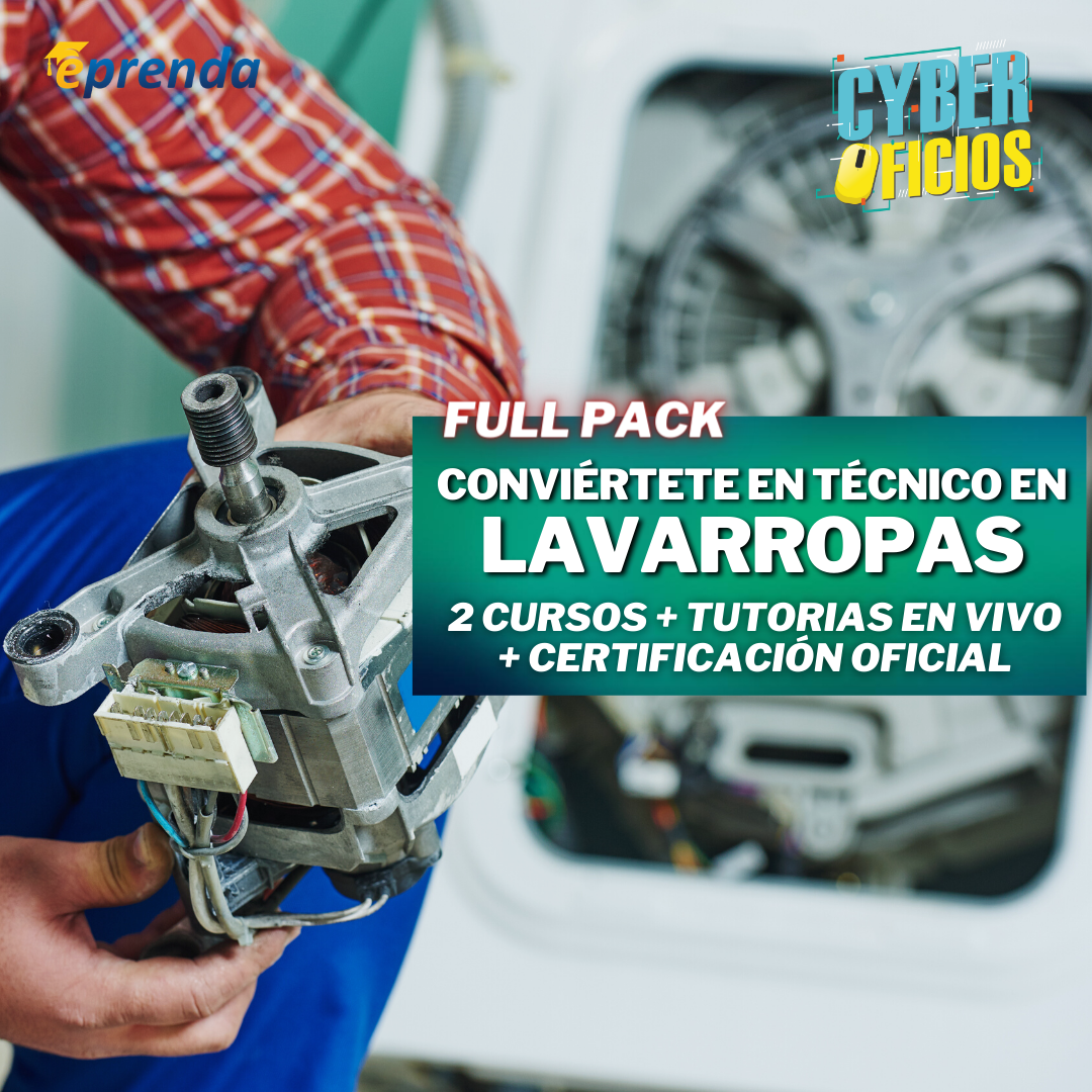 FullPack: Convierte en un Tecnico Profesional en Lavarropas