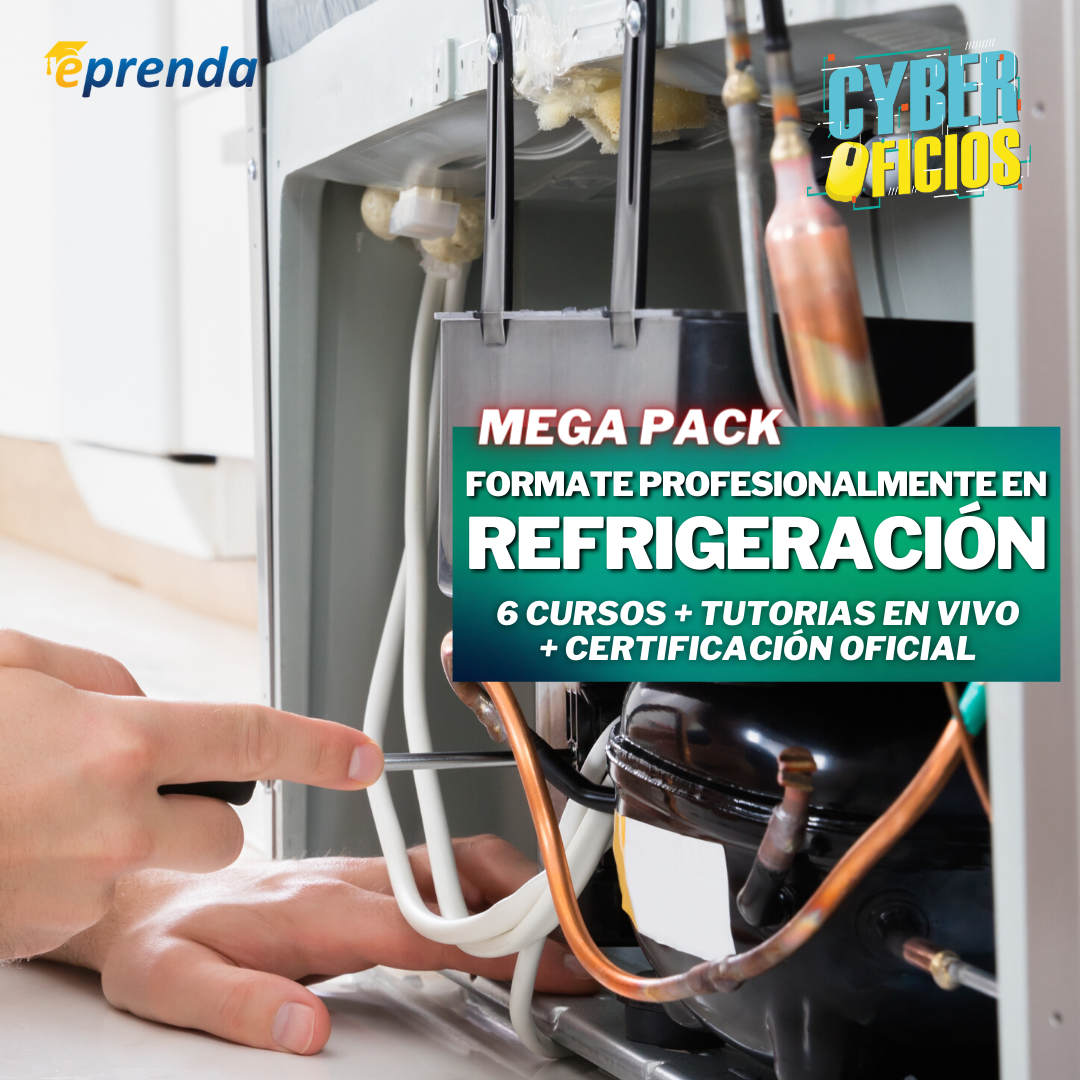 MegaPack: Fórmate Profesionalmente en Refrigeración