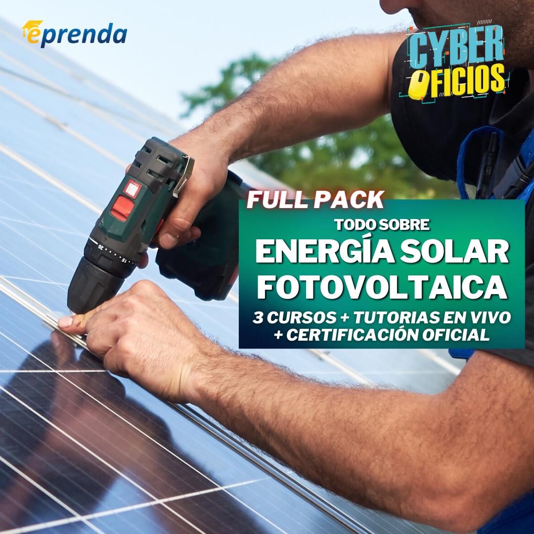 FullPack: Todo sobre Energía Solar Fotovoltaica