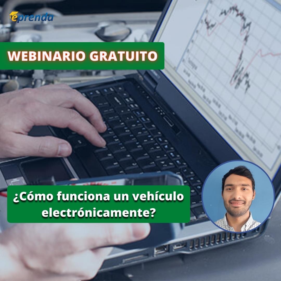 ¿Cómo funciona un vehículo electrónicamente?