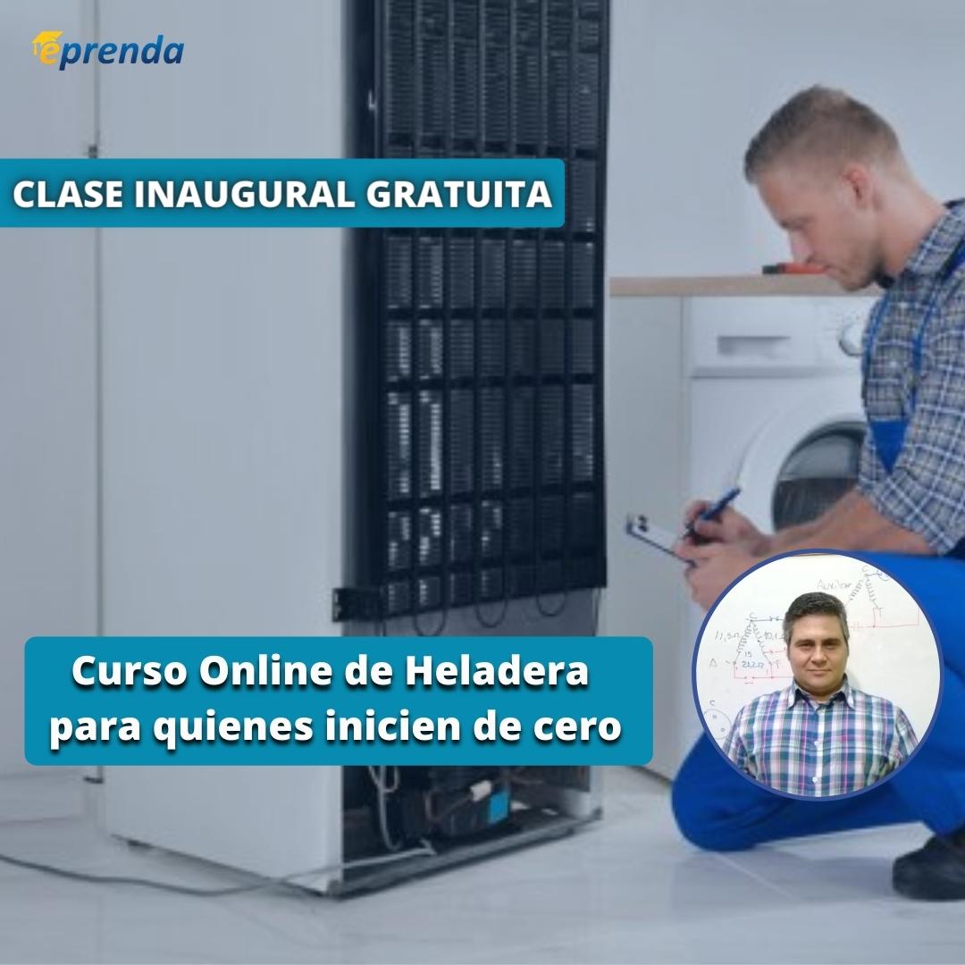 Clase Inaugural: Curso Online de Heladeras para quienes inicien de cero