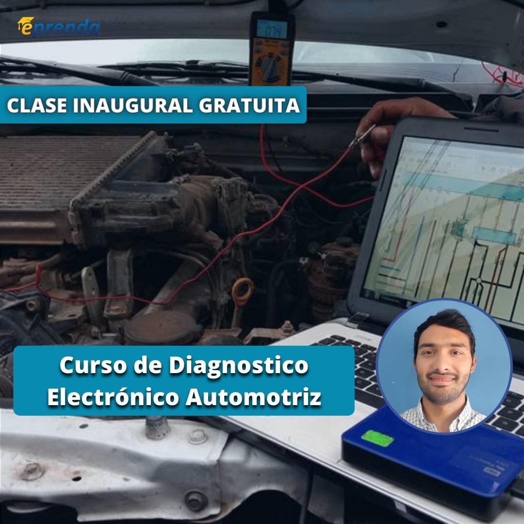 Clase Inaugural: Curso de Diagnostico Electrónico Automotriz