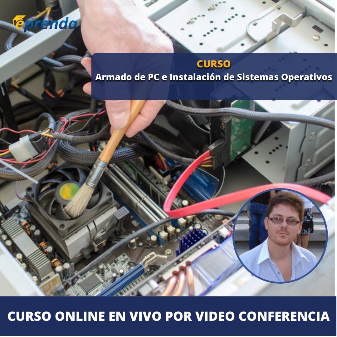 Curso Online de Armado de PC e Instalación de Sistemas Operativos
