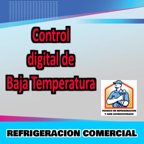 Control Digital de Baja Temperatura