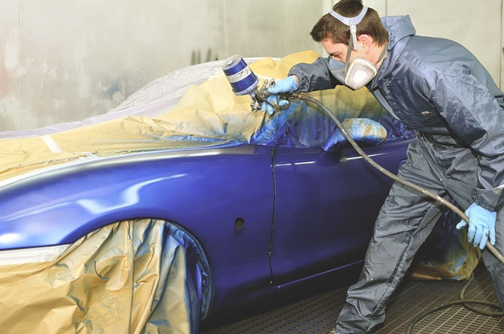 Curso de Pintura Automotriz - Preparacion p/pintura