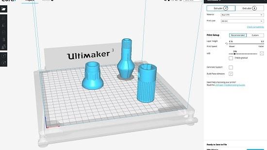 Ultimaker Cura es un software de impresión 3D - Nivel Avanzado