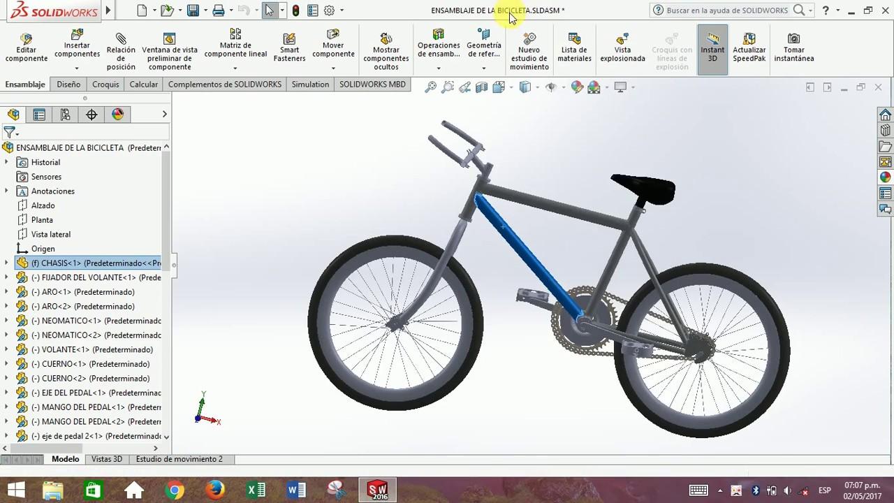 Aprende a Modelar tus propios proyectos con Solid Works - Nivel Básico
