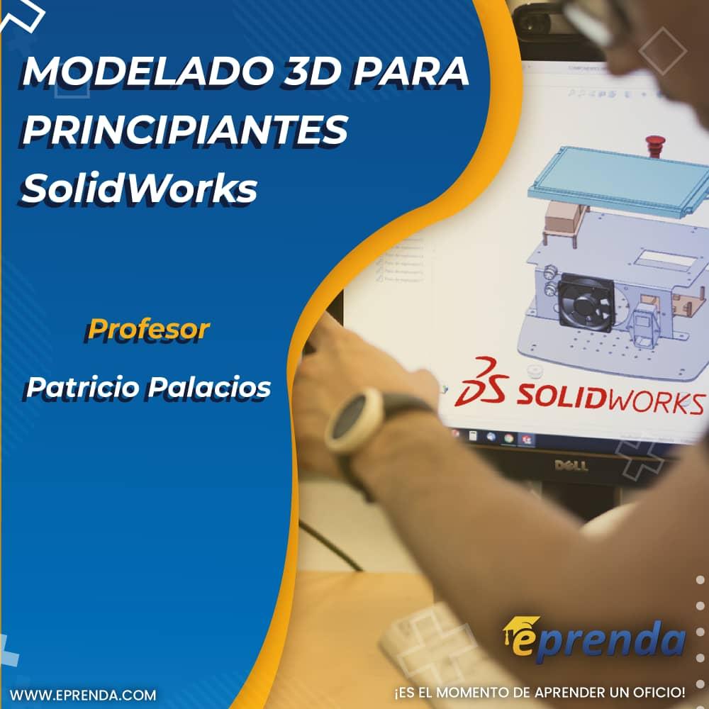 Modelado 3D  para principiantes - SolidWorks