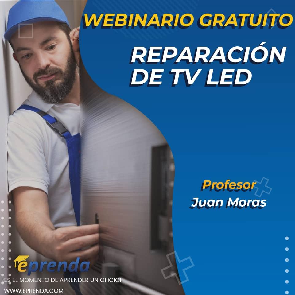 Cómo se repara un televisor LED