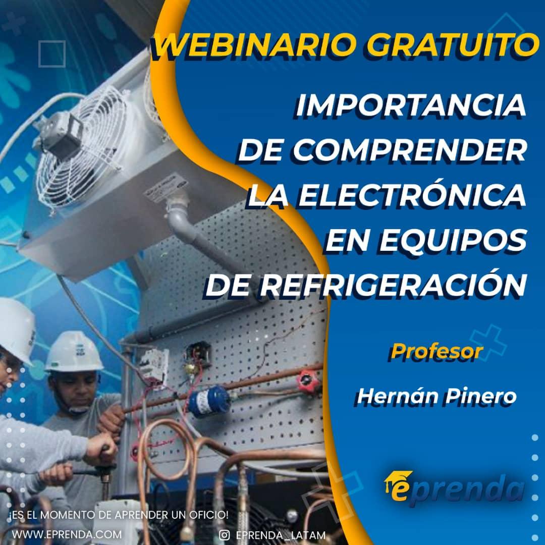 Importancia de comprender la electrónica en equipos de refrigeración