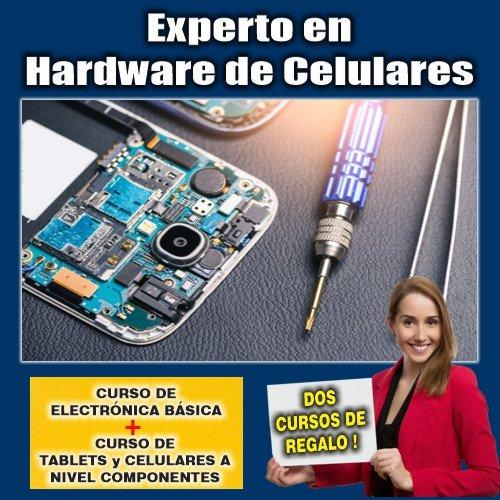 Paquete Cursos: Experto en Hardware de Celulares