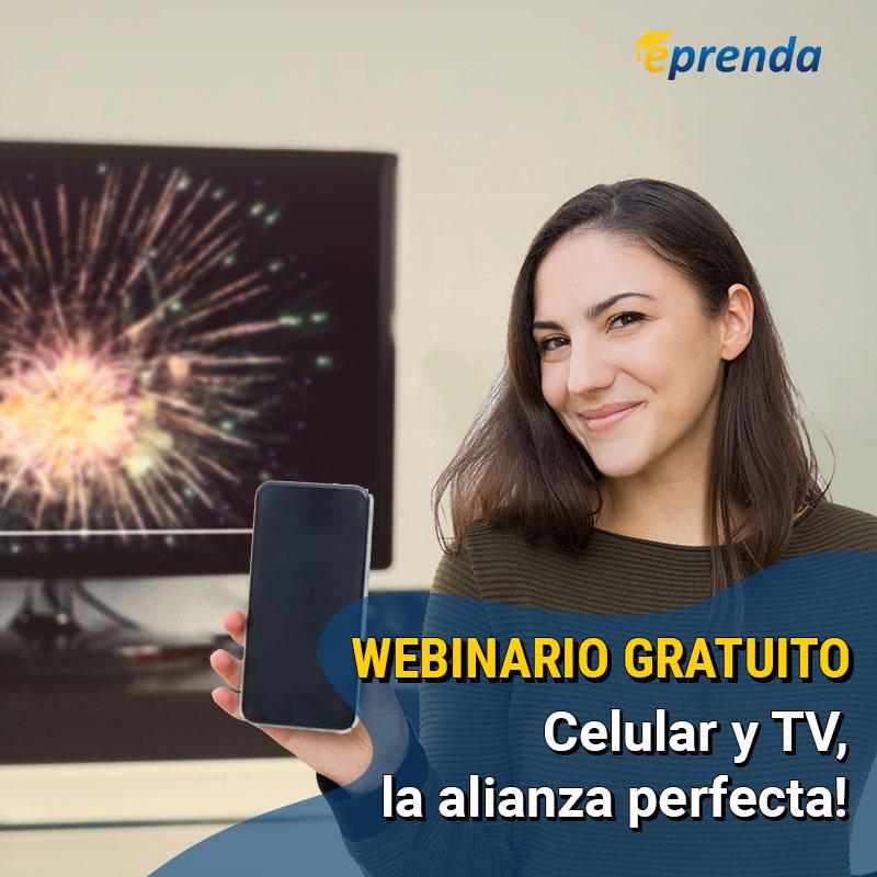 Celular y TV, la alianza perfecta!