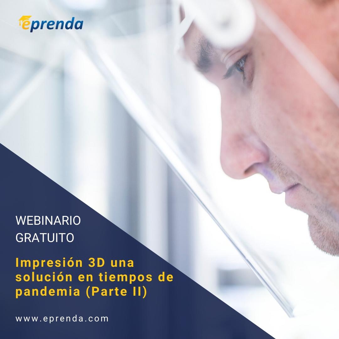 Impresión 3D una solución en tiempos de pandemia (2/2)