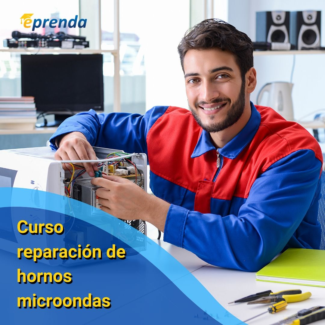 Curso reparación de hornos microondas (incluye plaqueta electrónica)